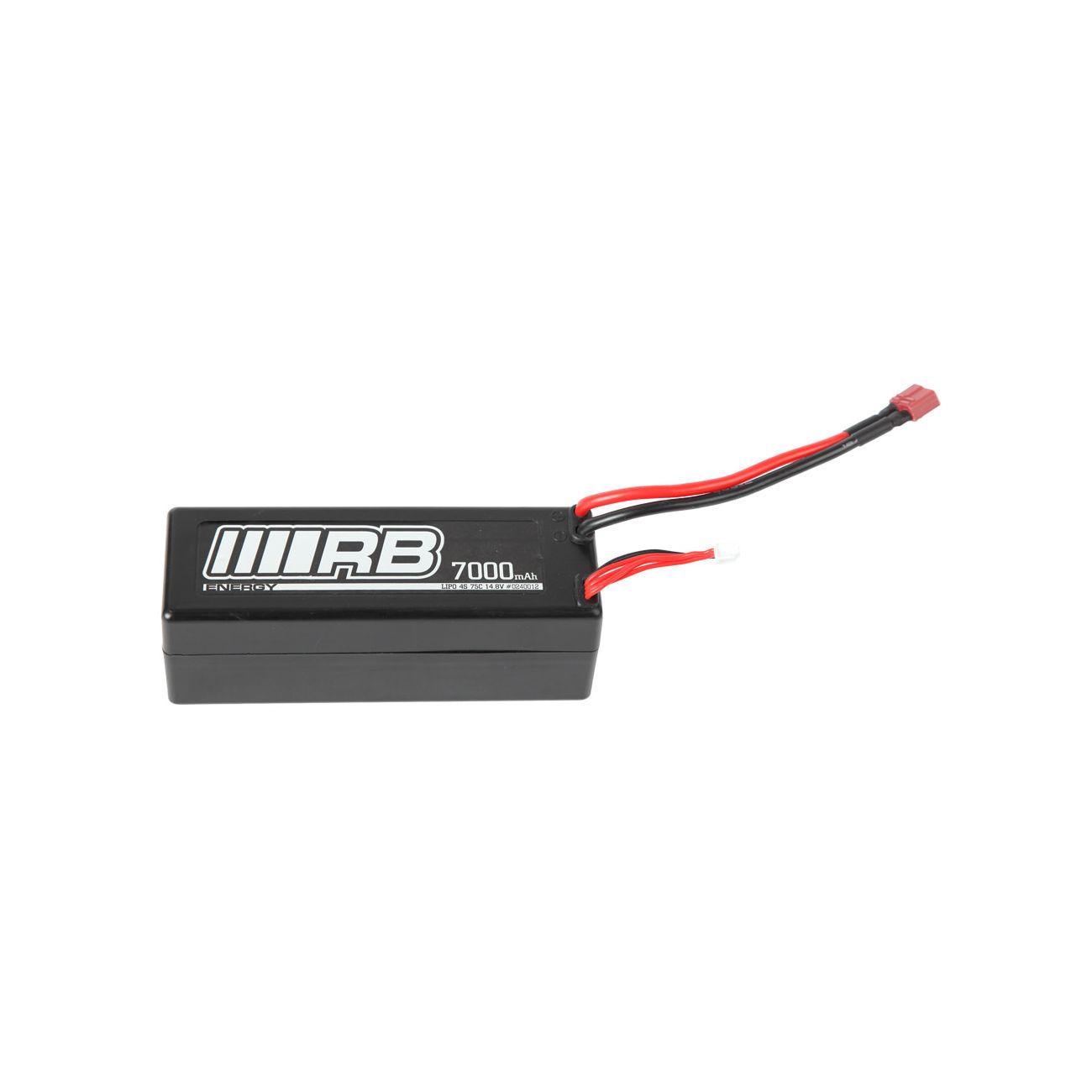 Rb lipo akku 14 8v 7000mah 75c energy hardcase 240012 for Lipo schreibtisch