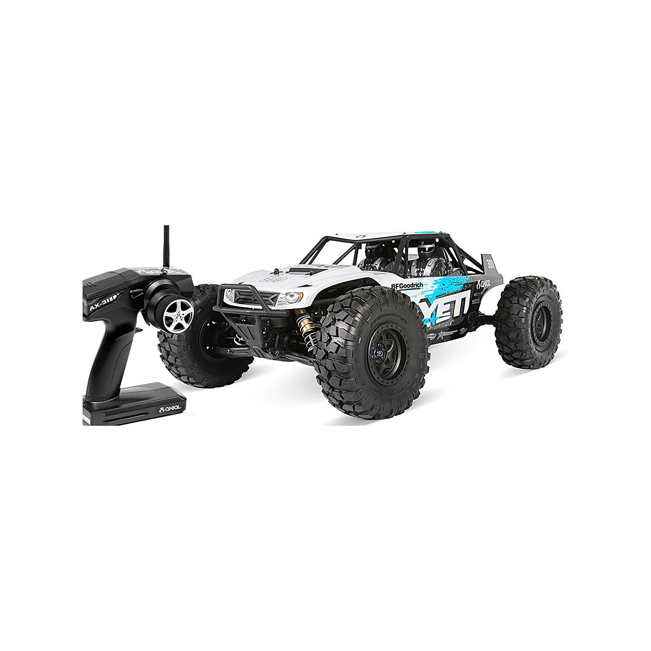 Axial 1:10 Yeti 4WD Brushless Rock Racer Truck 2,4 GHz RTR Set AX90026 0