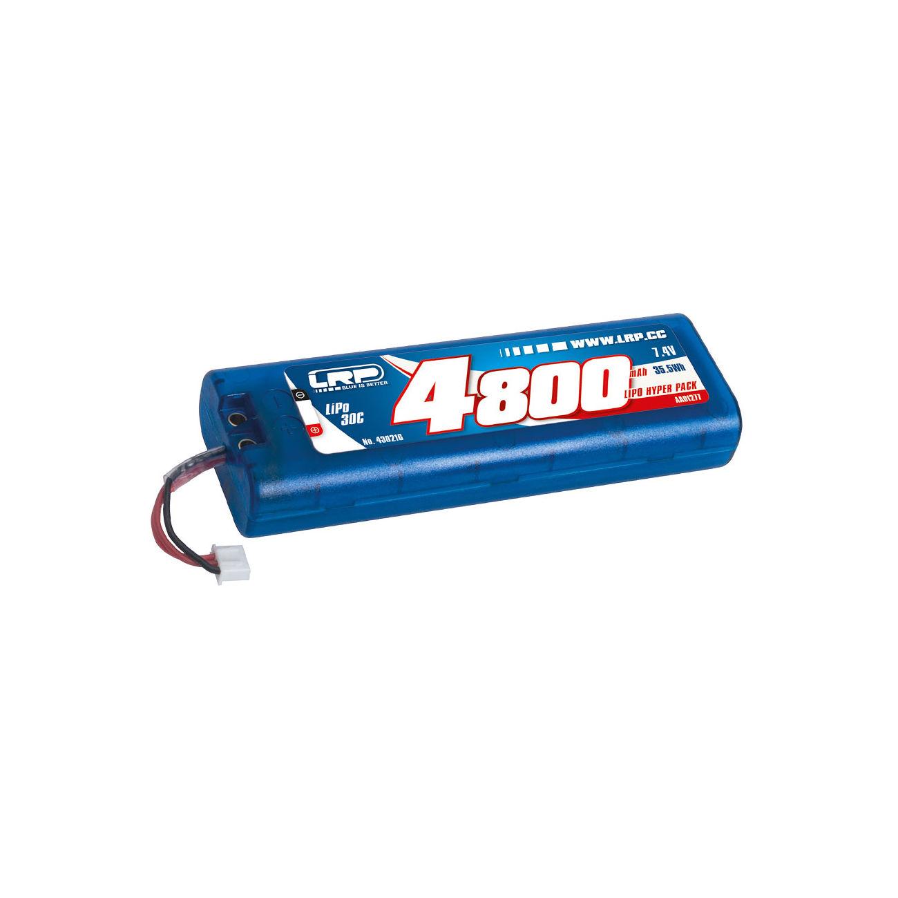 Lrp lipo akku 7 4v 4800mah 30c hyper pack multi plug for Lipo schreibtisch