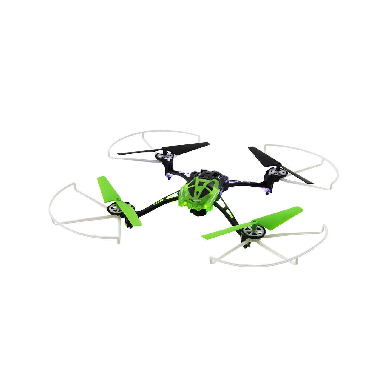 xciterc rocket 250 3d quadrocopter 4 kanal 2 4 ghz rtf inkl kamera gr n 15014100 kotte zeller. Black Bedroom Furniture Sets. Home Design Ideas