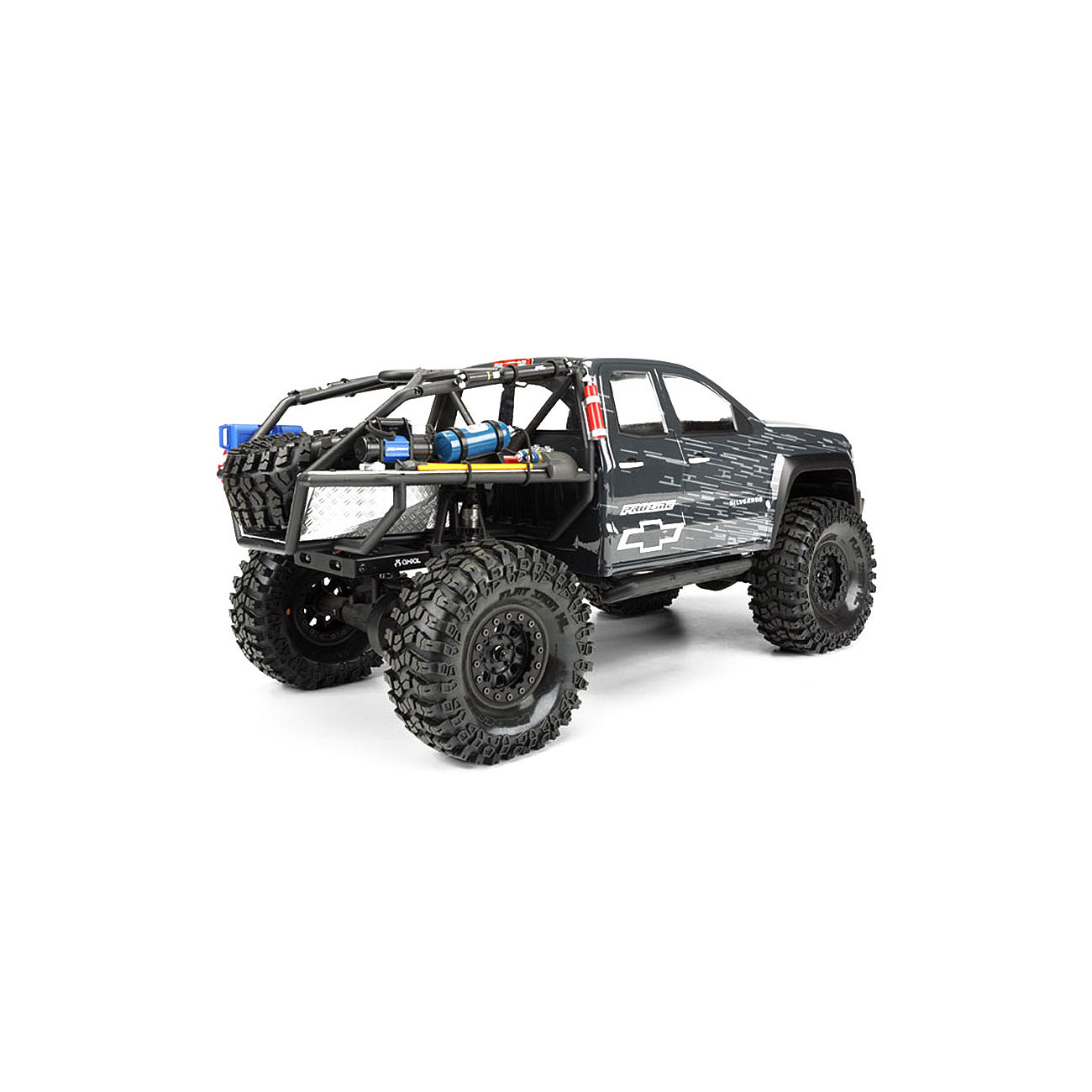 pro line 1 10 lexan karosserie chevy silverado f axial. Black Bedroom Furniture Sets. Home Design Ideas