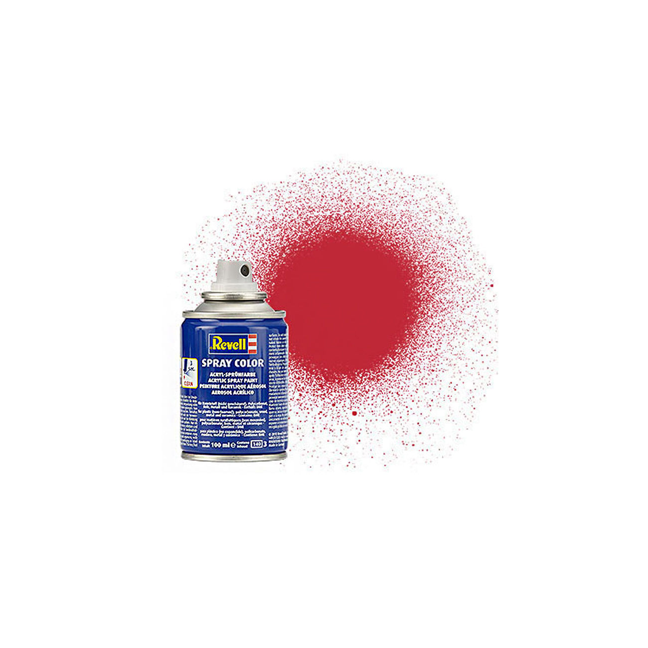 Revell Acryl Spray Color Sprühdose Kaminrot matt 100ml 34136 0