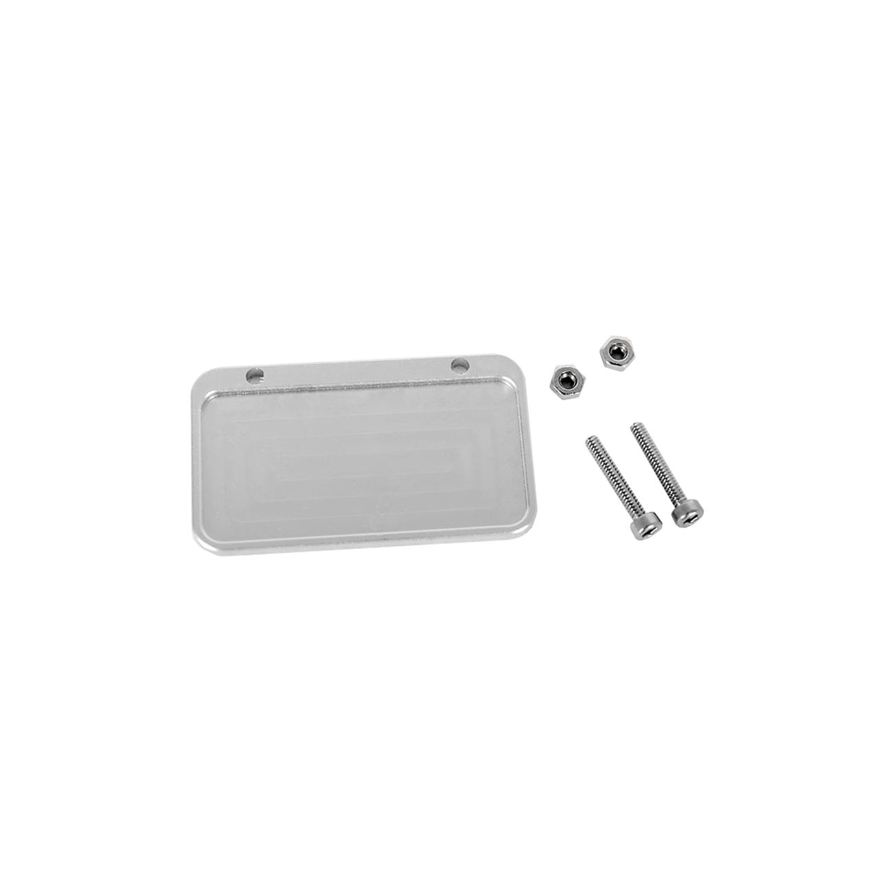 RC4WD 1:10 Aluminium US-Design Nummernschild Rahmen silber Z-S0285 ...