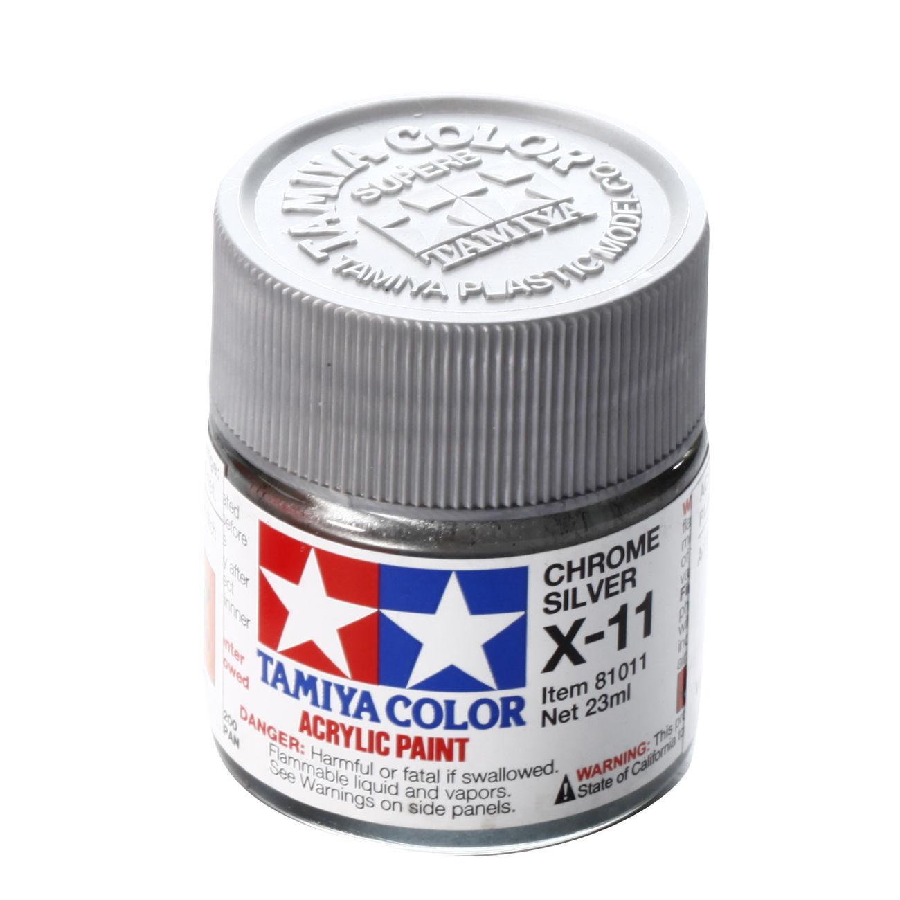 silber farbe tamiya x 11 chrom glanzend acryl harz 23ml silberfarbene turnschuhe