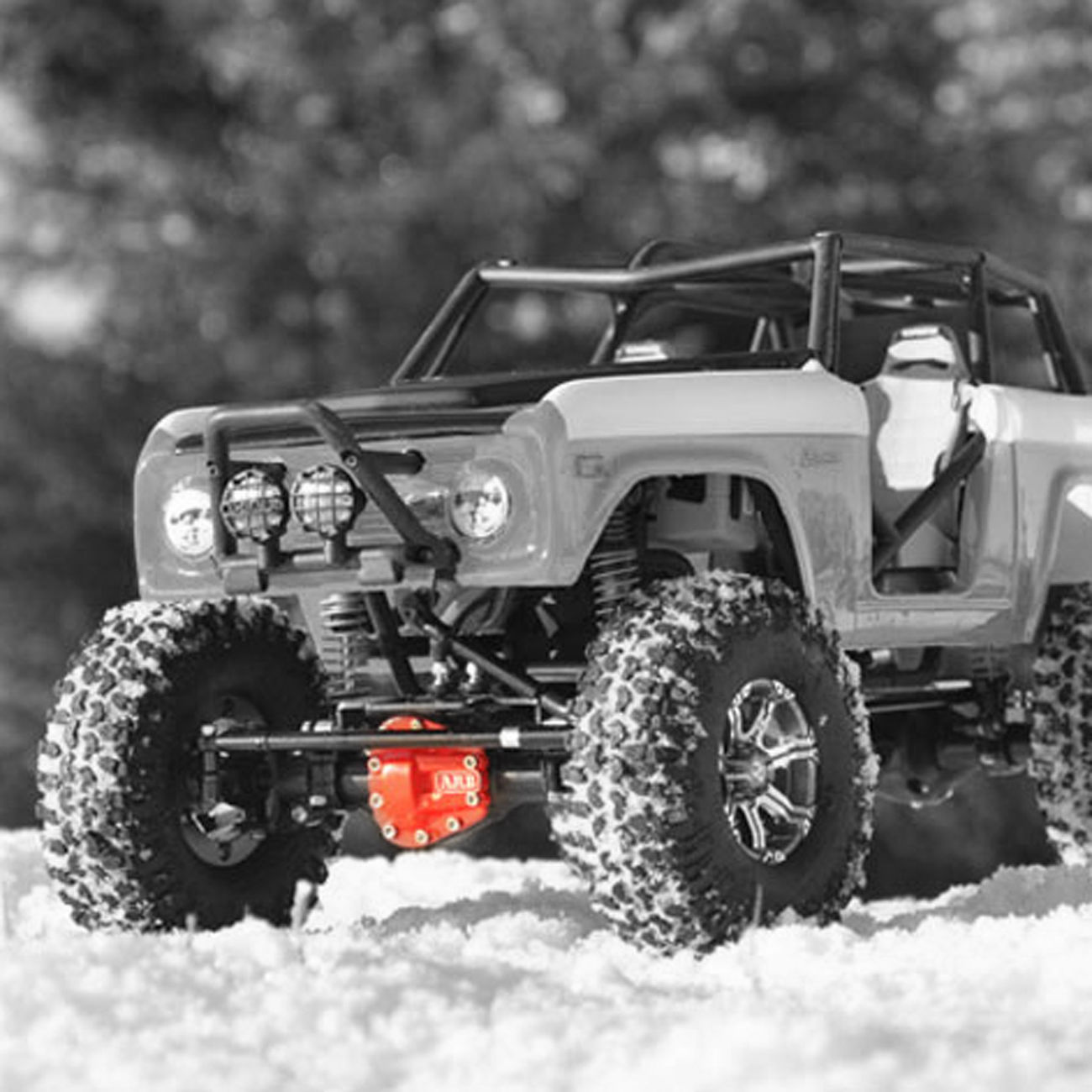 RC4WD T-Rex 60 ARB Alu Differential Deckel rot Z-S0220 1