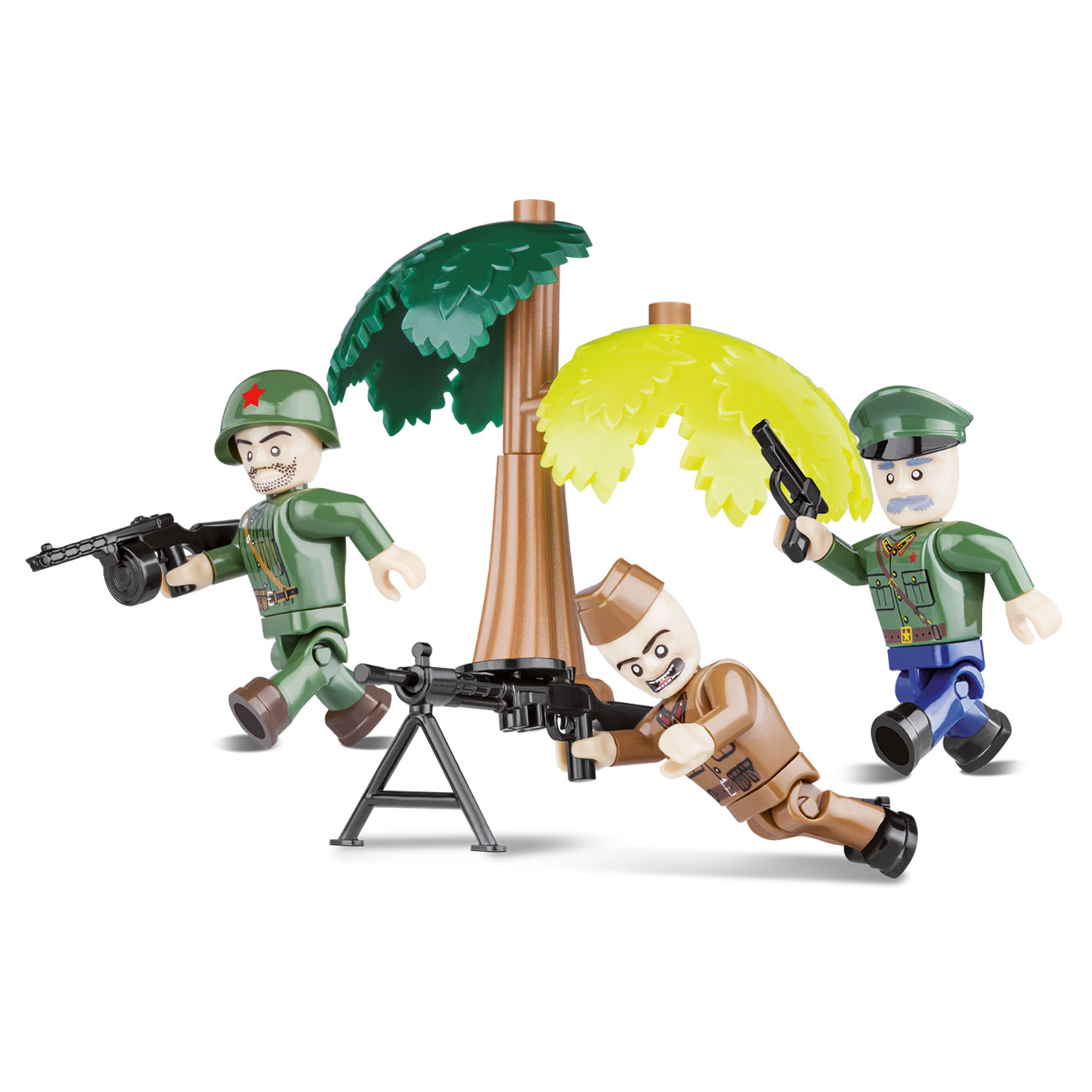 Cobi Historical Collection Soviet Soldiers 25 Teile 2030 0
