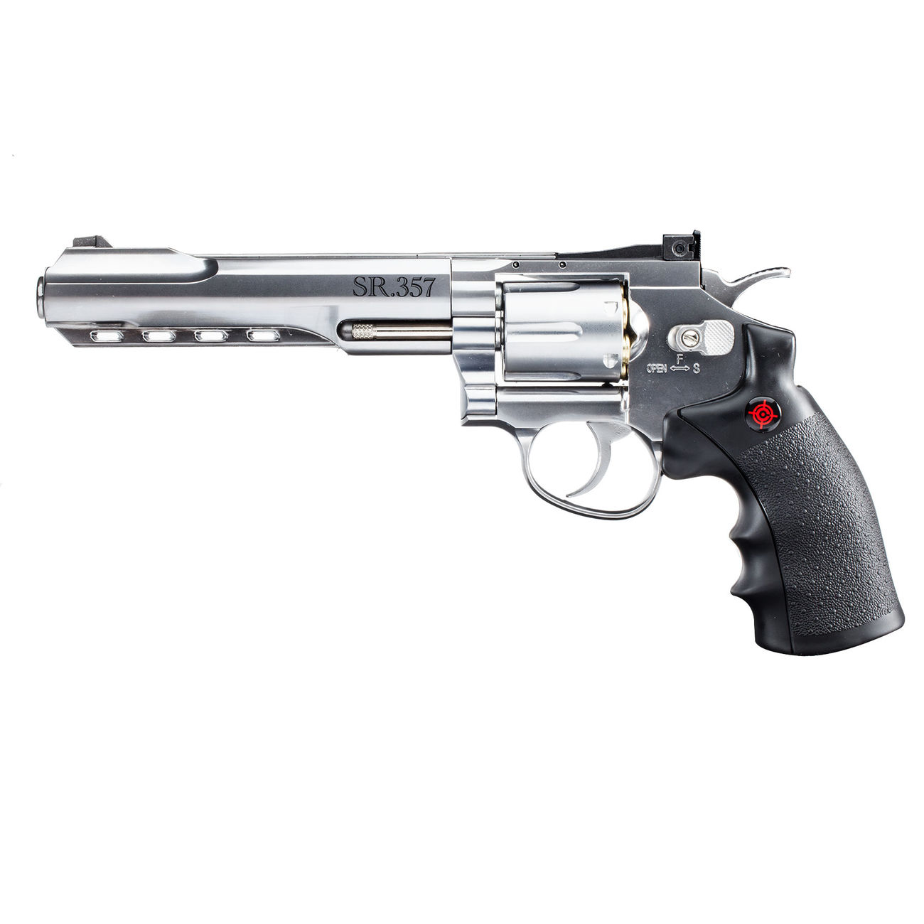Crosman SR 357 CO2 Revolver 4,5 mm BB silber 0