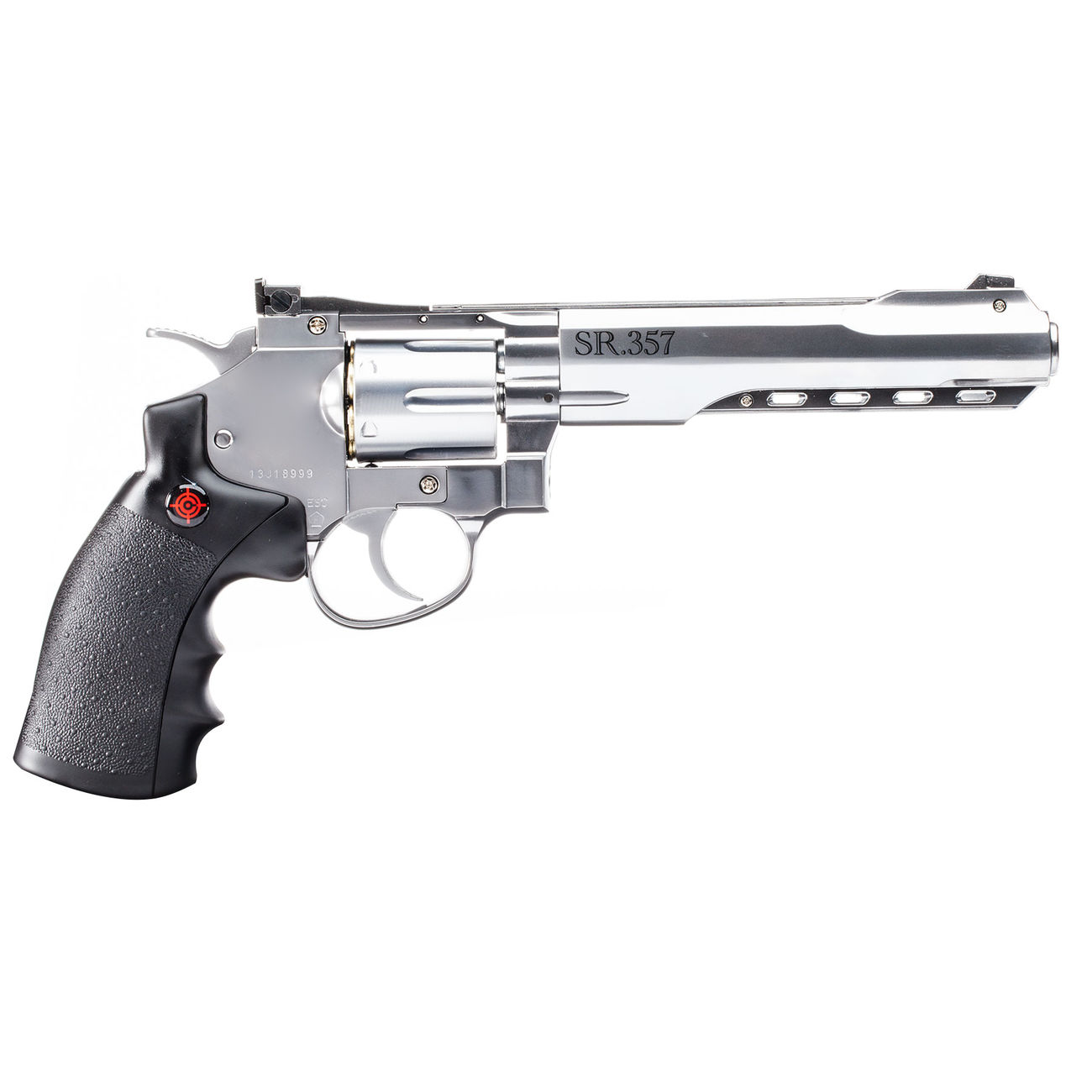 Crosman SR 357 CO2 Revolver 4,5 mm BB silber 1