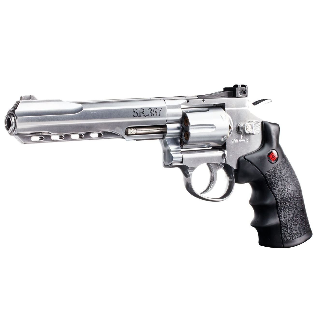 Crosman SR 357 CO2 Revolver 4,5 mm BB silber 2