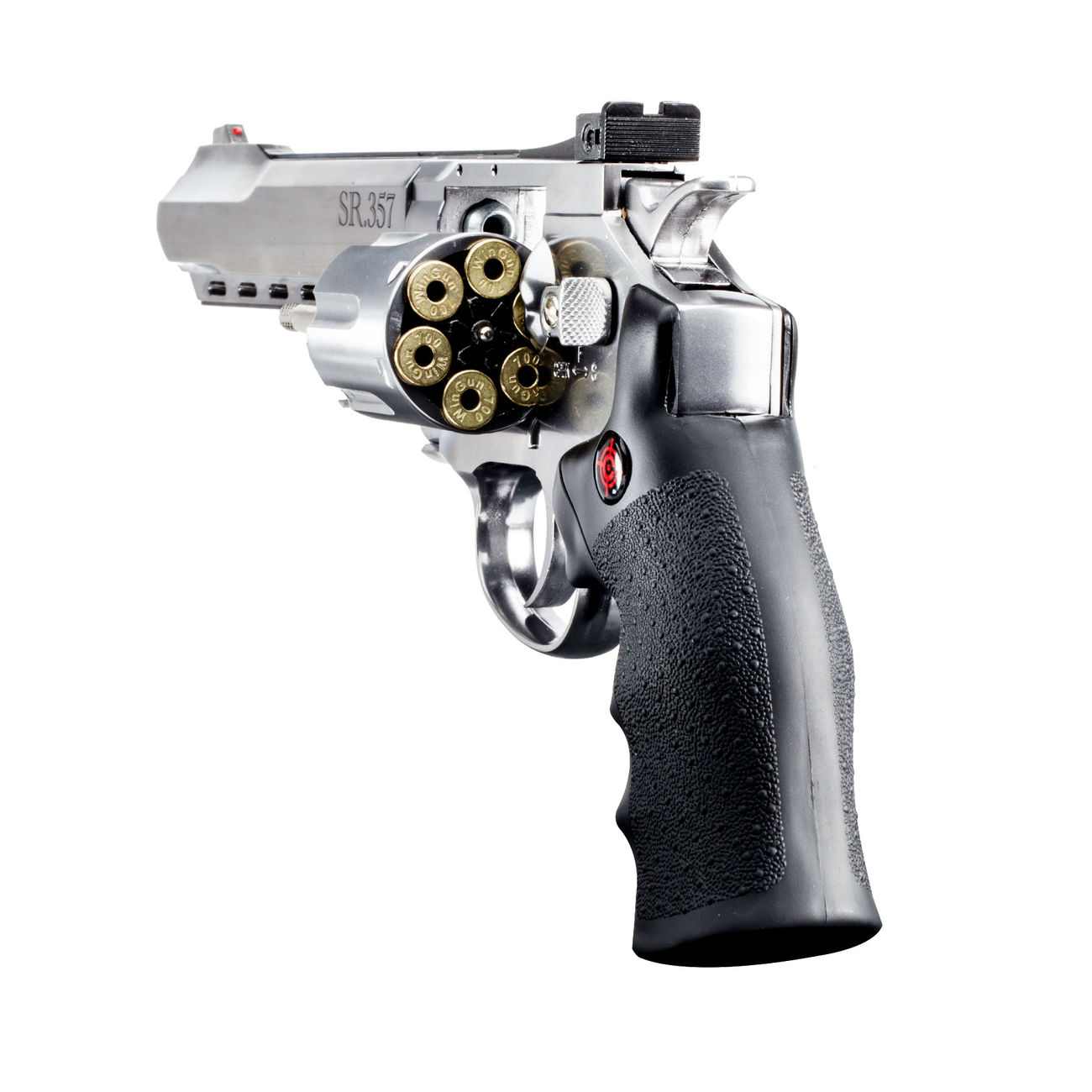 Crosman SR 357 CO2 Revolver 4,5 mm BB silber 3