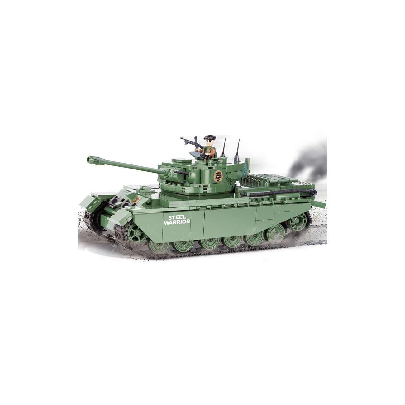 Cobi World Of Tanks Roll Out Small Army Bausatz Panzer Centurion I 610 Teile 3010 0