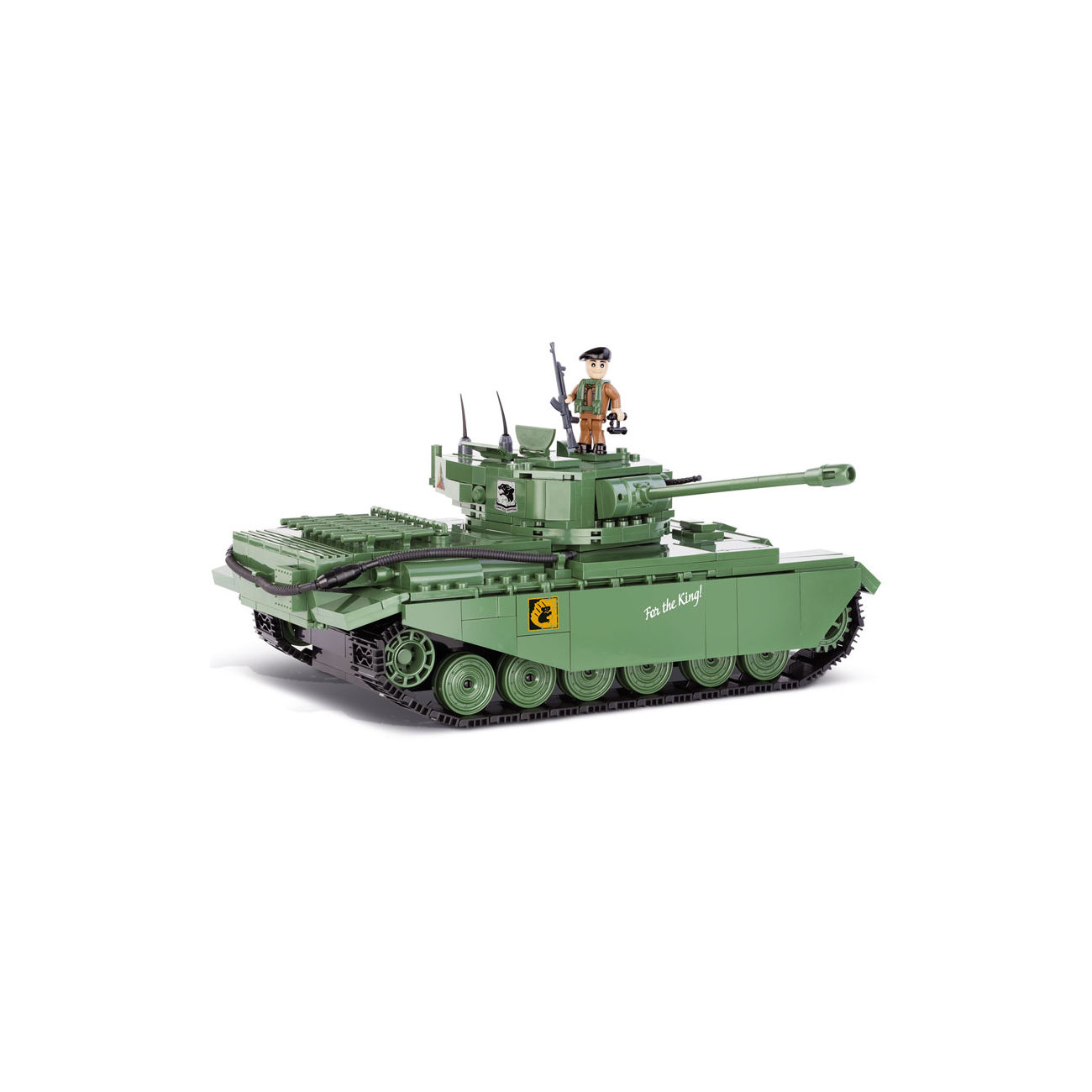 Cobi World Of Tanks Roll Out Small Army Bausatz Panzer Centurion I 610 Teile 3010 1