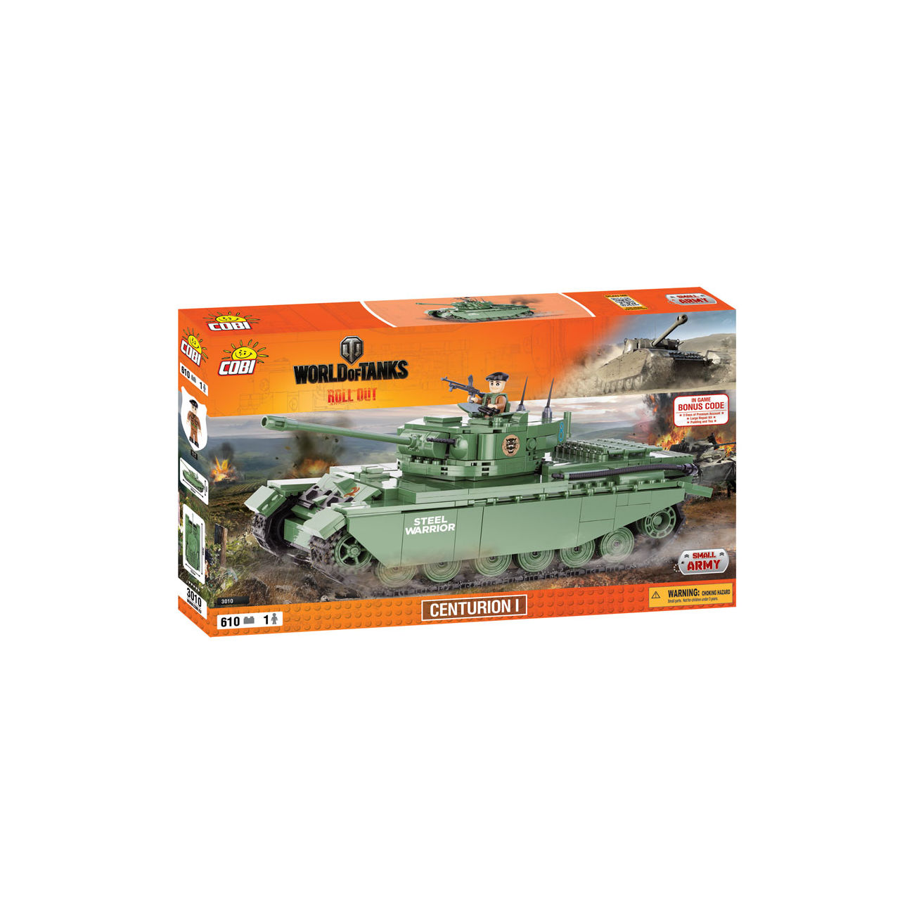 Cobi World Of Tanks Roll Out Small Army Bausatz Panzer Centurion I 610 Teile 3010 2