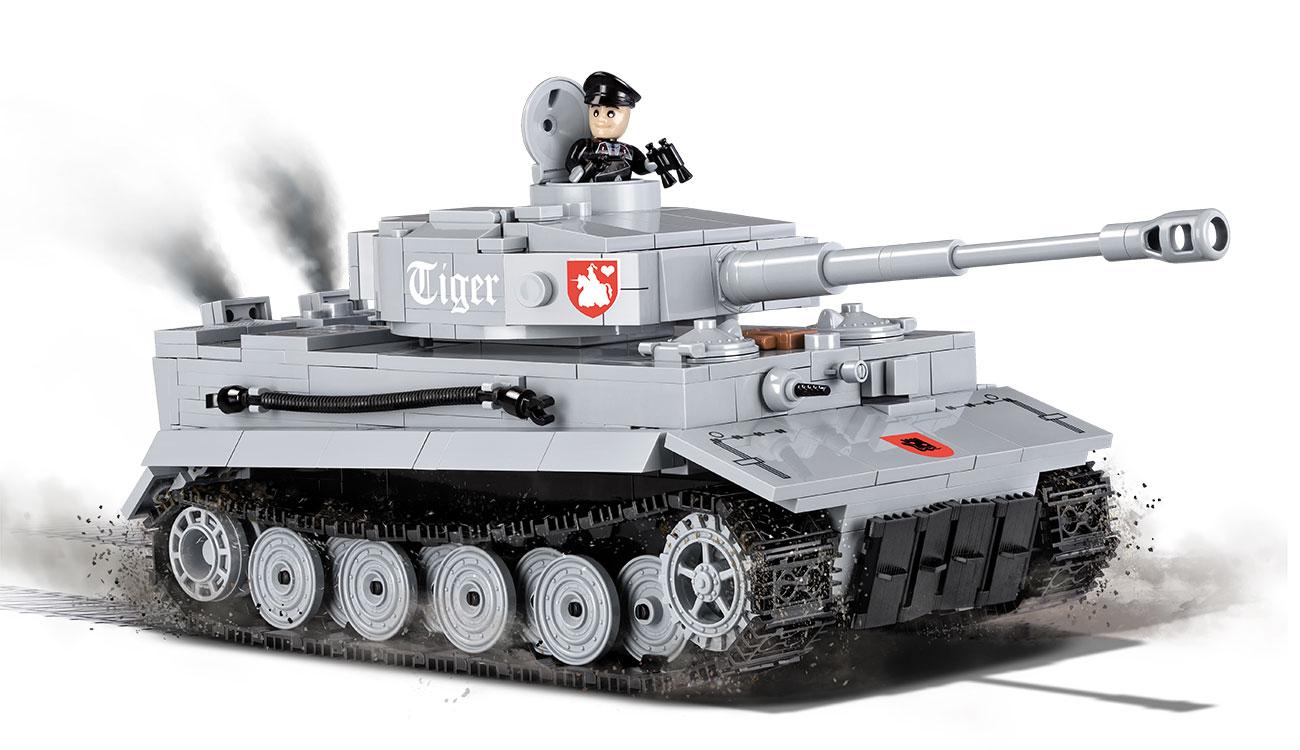 cobi word of tanks bausatz panzer tiger i 540 teile 3000a. Black Bedroom Furniture Sets. Home Design Ideas