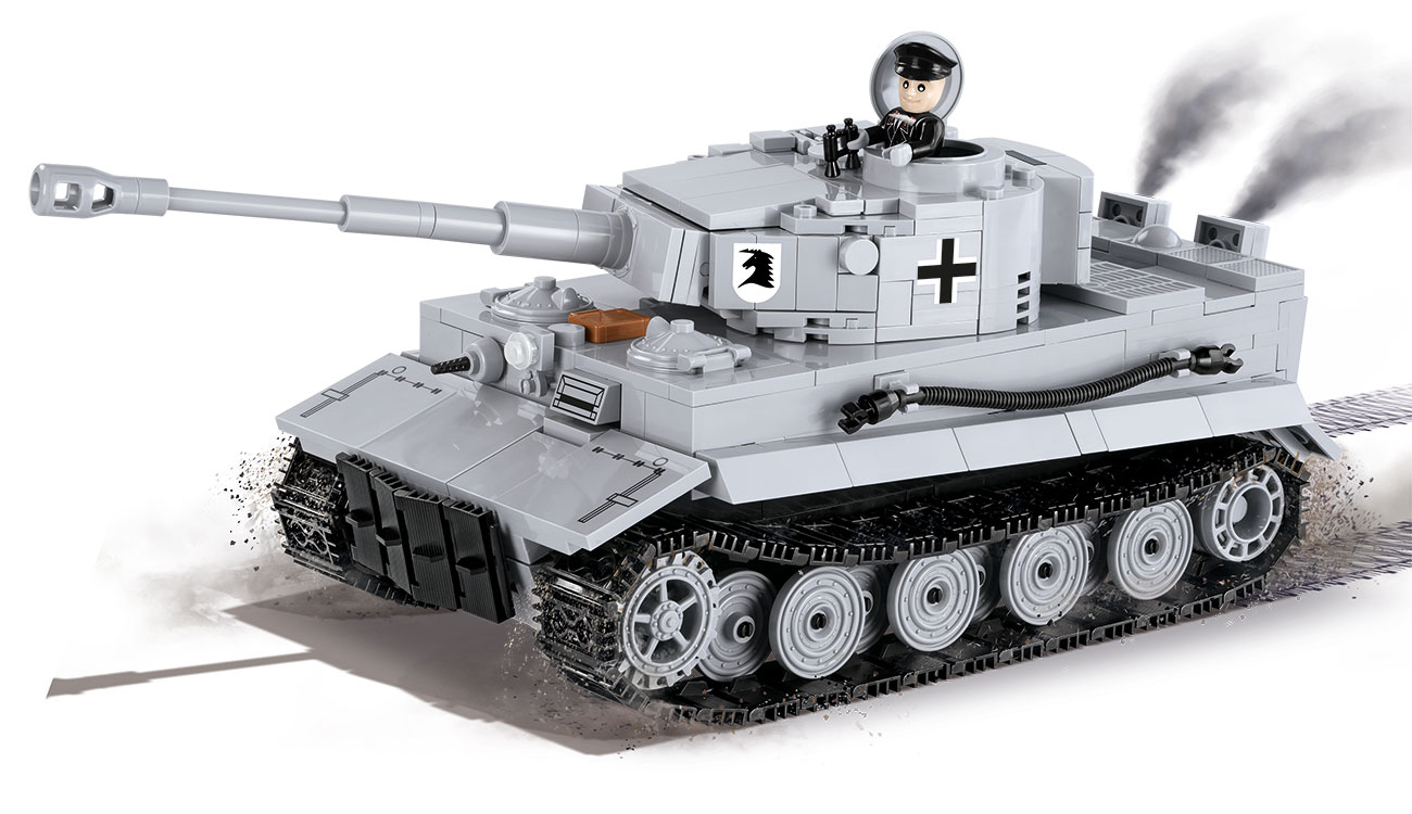 cobi world of tanks bausatz panzer tiger i 545 teile 3000b g nstig kaufen kotte zeller. Black Bedroom Furniture Sets. Home Design Ideas