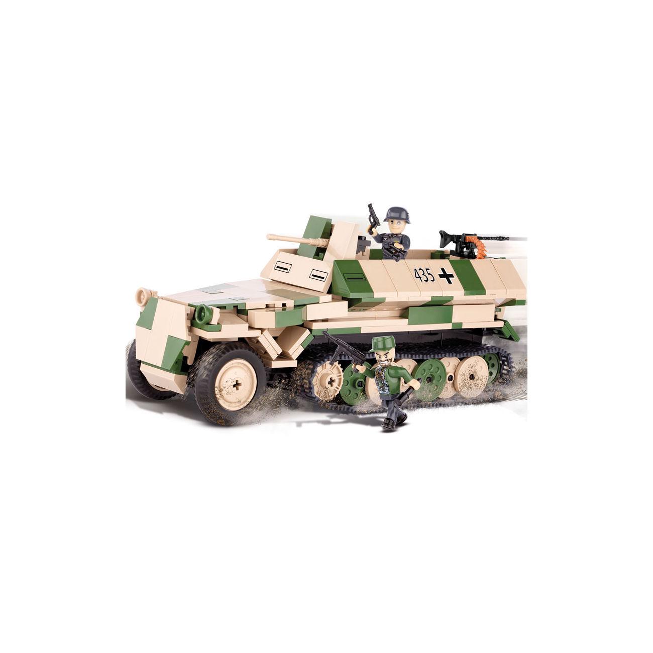 cobi small army bausatz halbkettenfahrzeug sd kfz 251 10. Black Bedroom Furniture Sets. Home Design Ideas