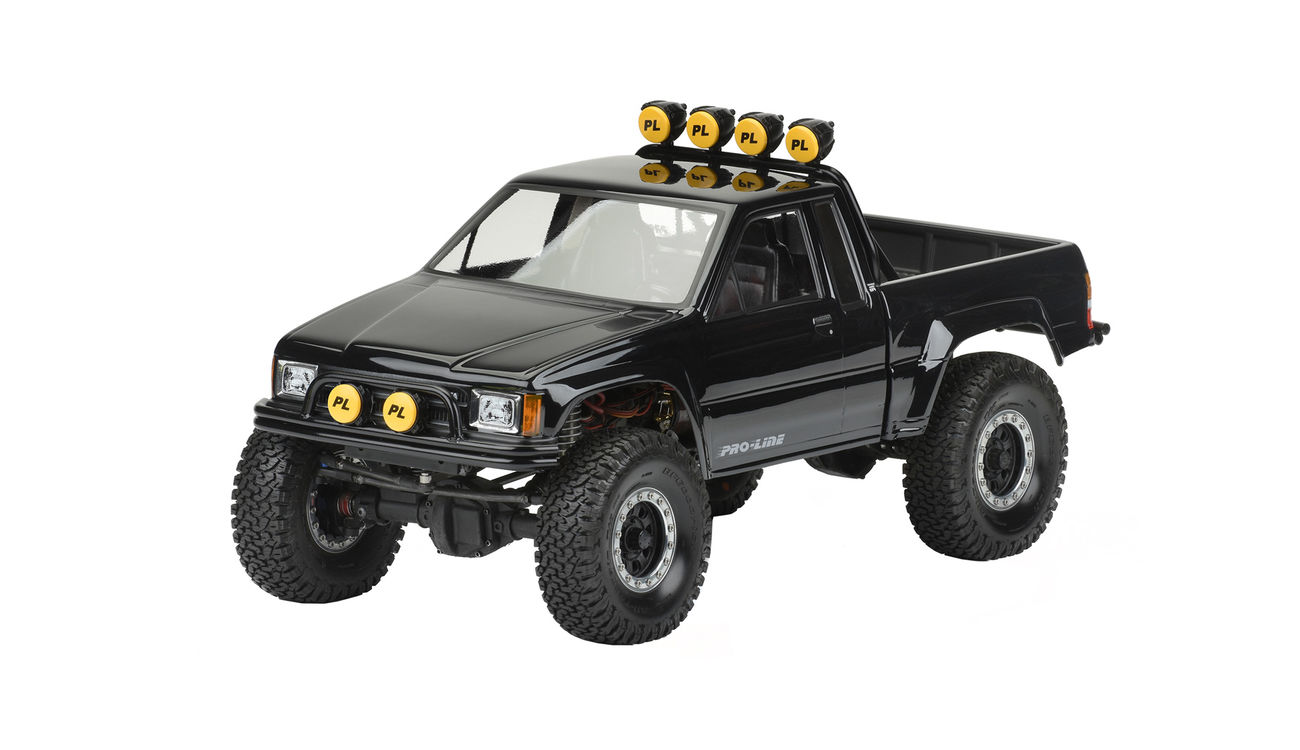 pro line 1 10 lexan karosserie toyota hilux sr5 1985 cab. Black Bedroom Furniture Sets. Home Design Ideas