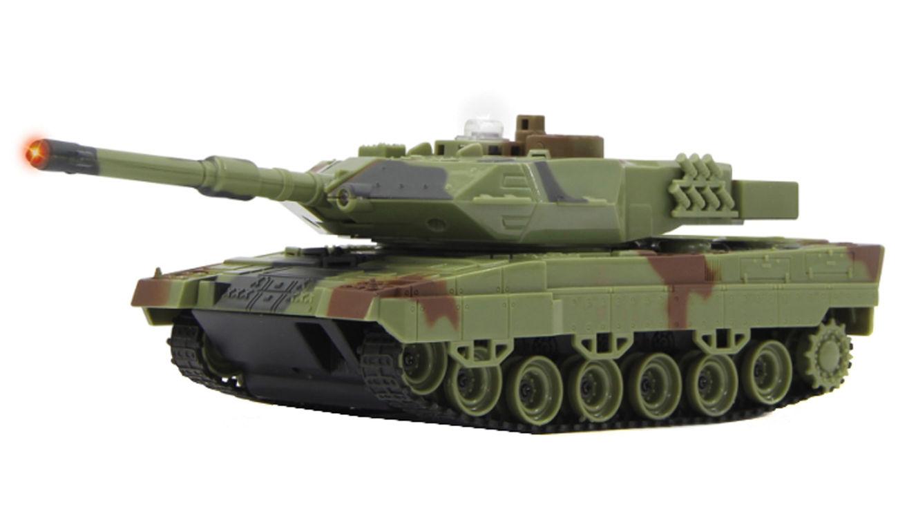 jamara 1 43 panzer battle set leopard ii 2 4 ghz rtr set. Black Bedroom Furniture Sets. Home Design Ideas