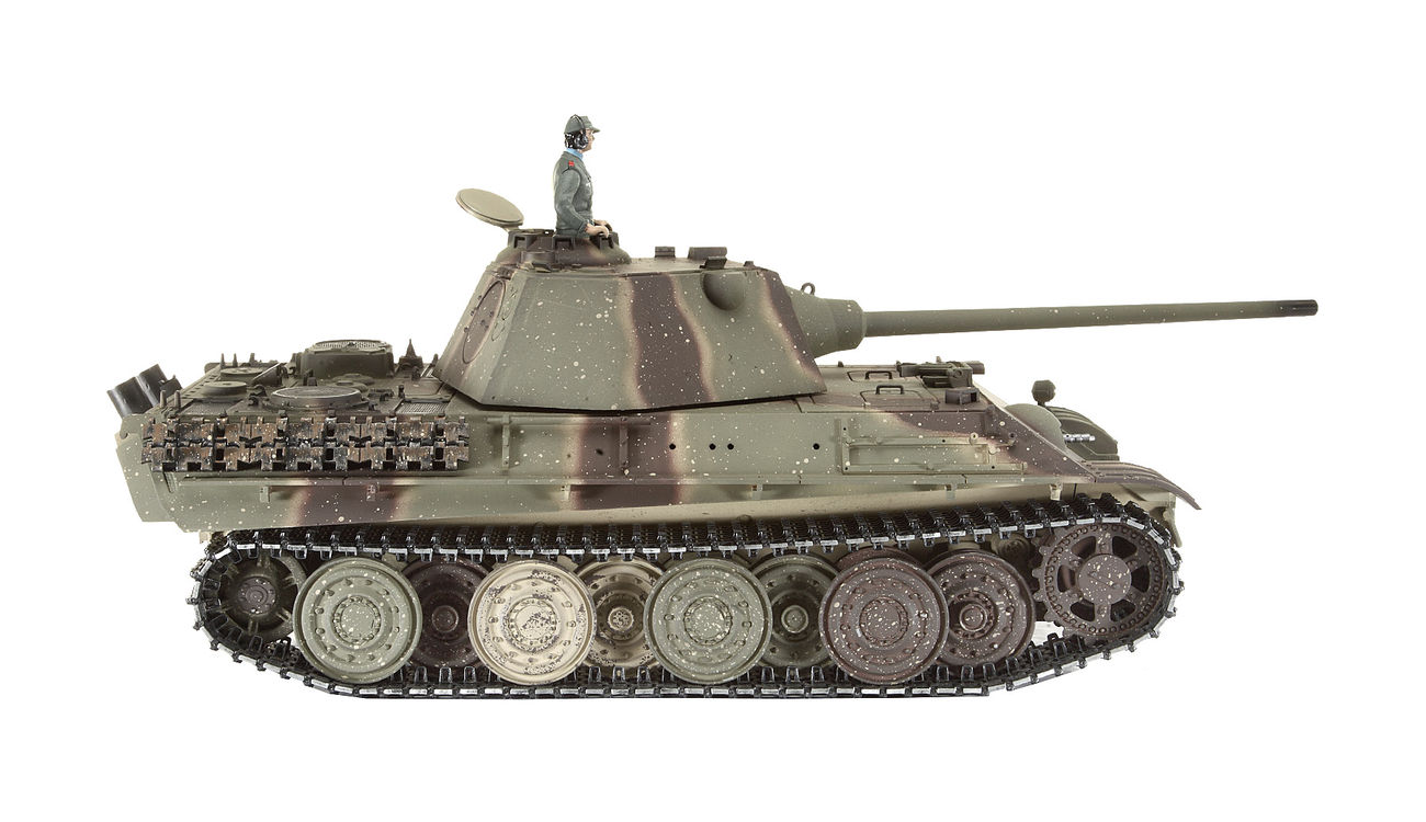 Torro rc panzer panther f pro edition 1:16 schussfähig rtr airbrush