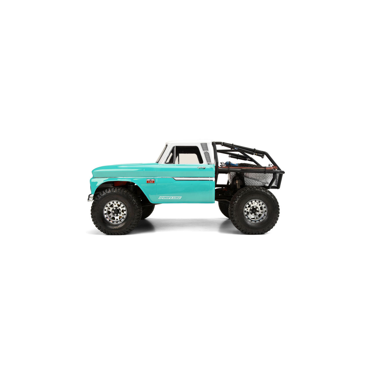 Pro-Line 1:10 Lexan Karosserie Chevrolet C-10 1966 Cab f. Axial Honcho 3483-01 1