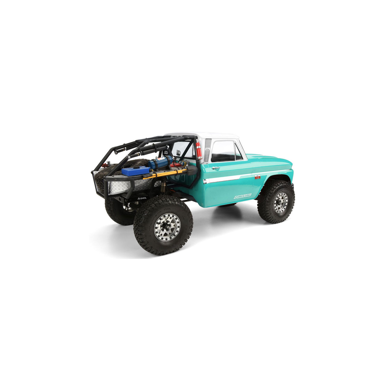 Pro-Line 1:10 Lexan Karosserie Chevrolet C-10 1966 Cab f. Axial Honcho 3483-01 2