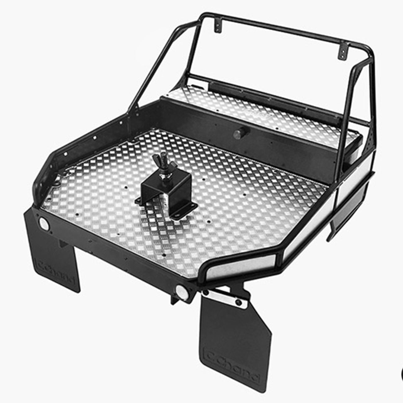 RC4WD Rear Tube Bed For Trail Finder 2 w/Mud Flaps (Black) VVV-C0253 2