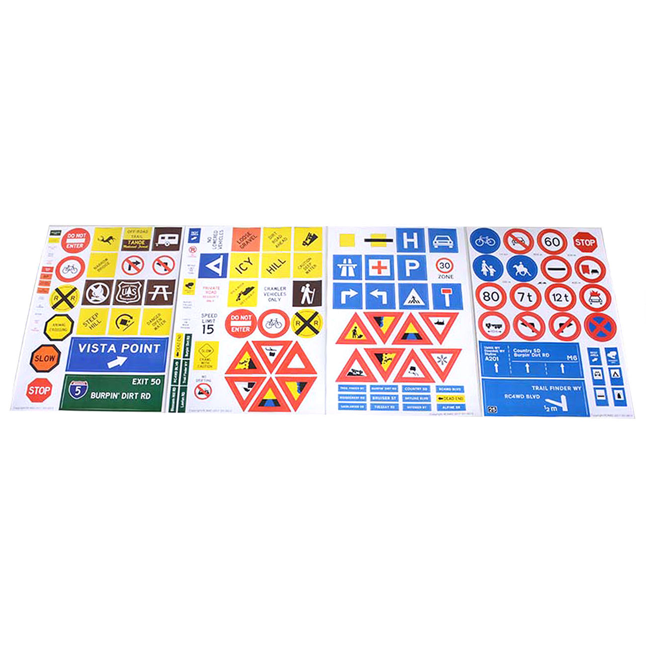 RC4WD Scale Signs Set Z-X0035 1
