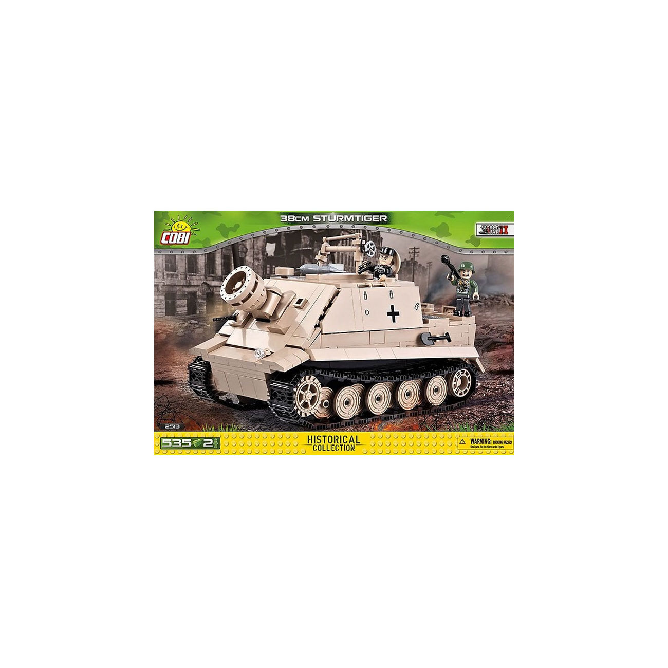 COBI 2513 38CM STURMMORSER Bau- & Konstruktionsspielzeug-Sets