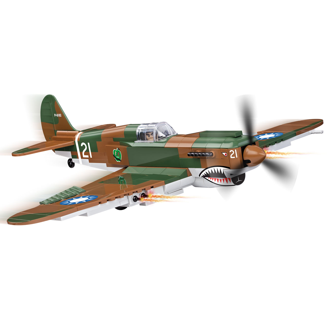 Cobi Historical Collection Bausatz Flugzeug P-40B Tomahawk 270 Teile 5527 0