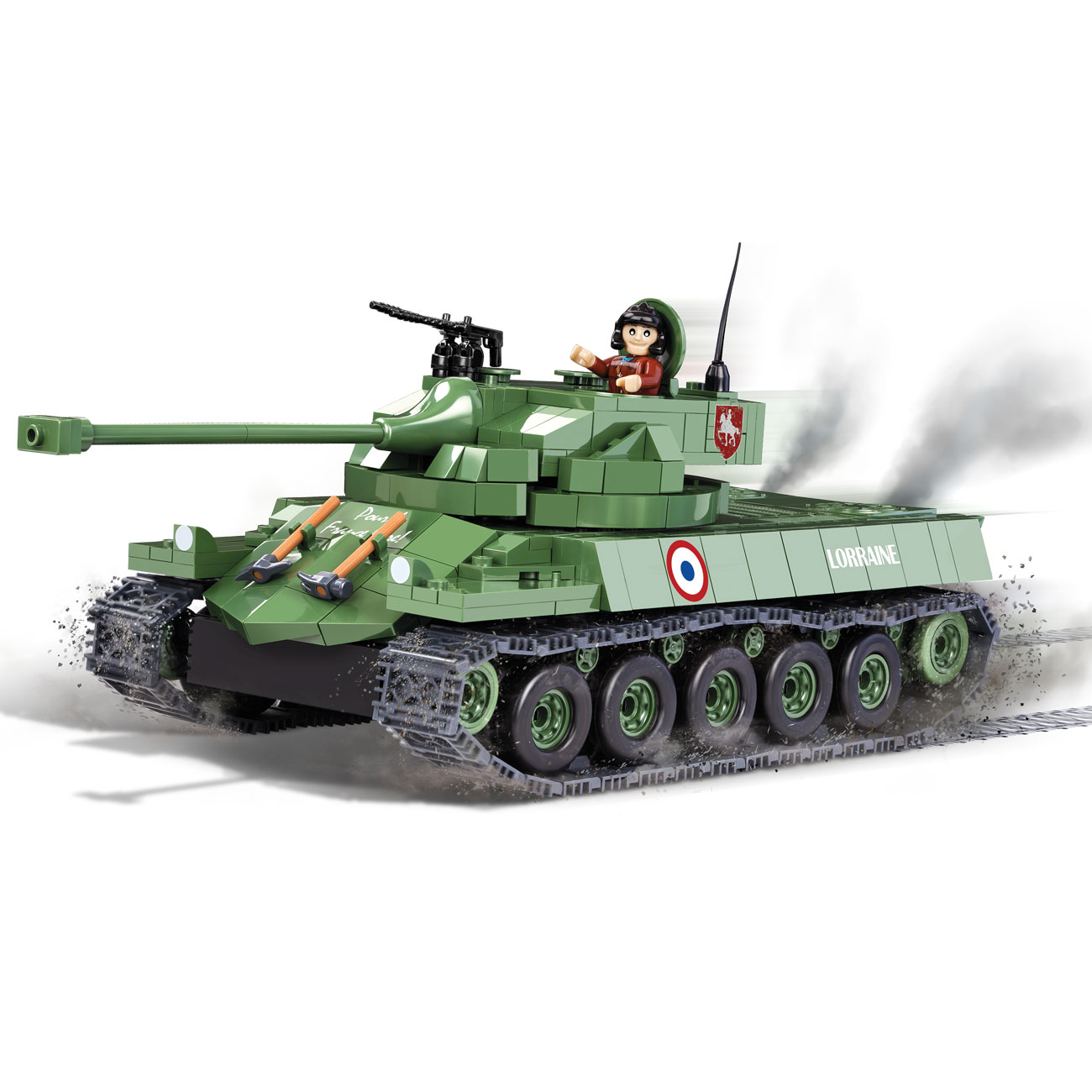 Cobi World Of Tanks Roll Out Small Army Bausatz Panzer F19 Lorraine 40T 540 Teile 3025 0