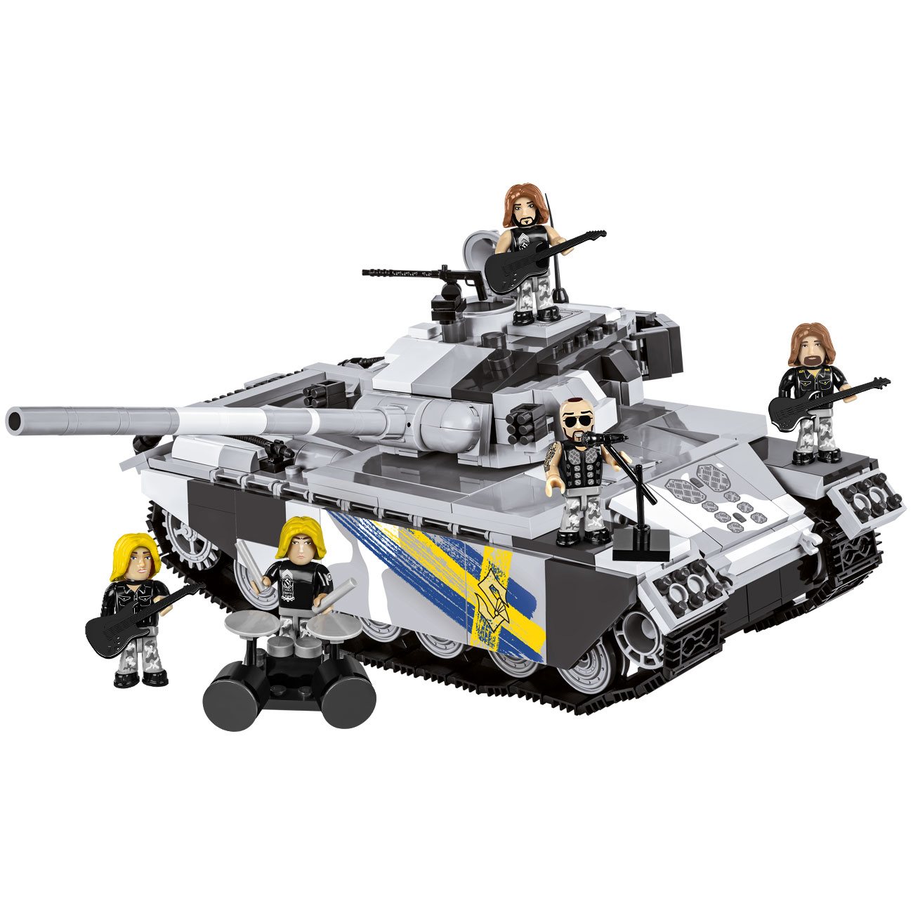 Cobi World Of Tanks Bau Panzer Sabaton Primo Victoria 675 Teile 3034 0