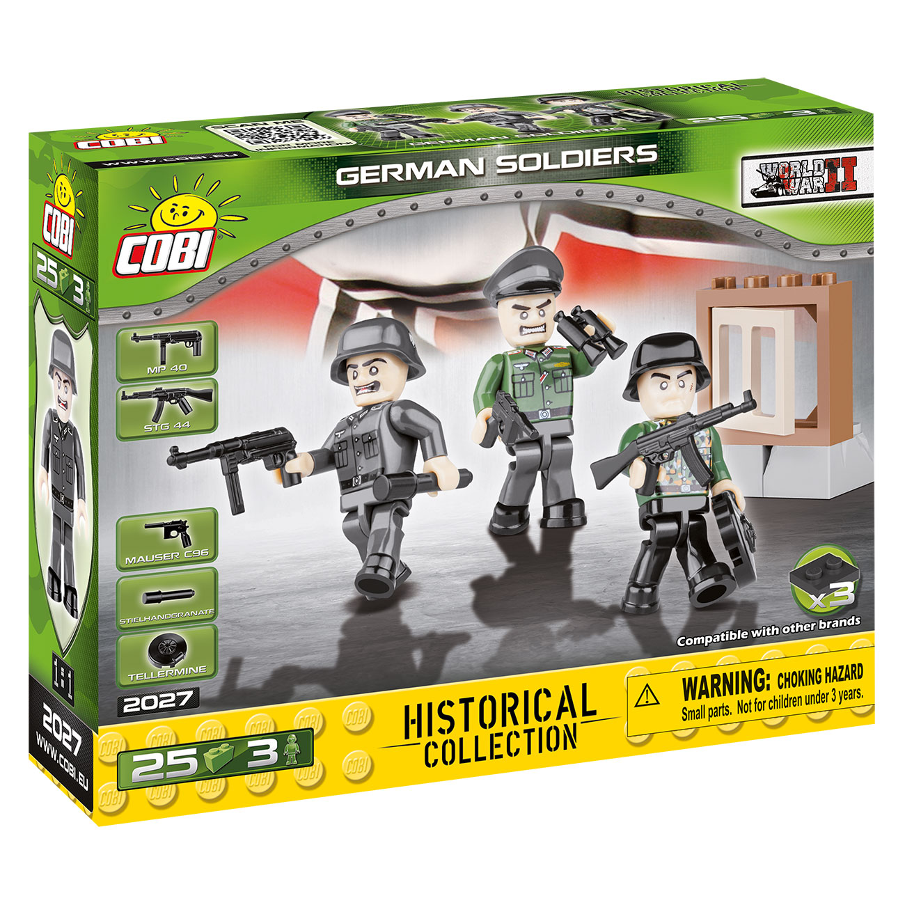 Cobi Historical Collection German Soldiers 25 Teile 2027 1