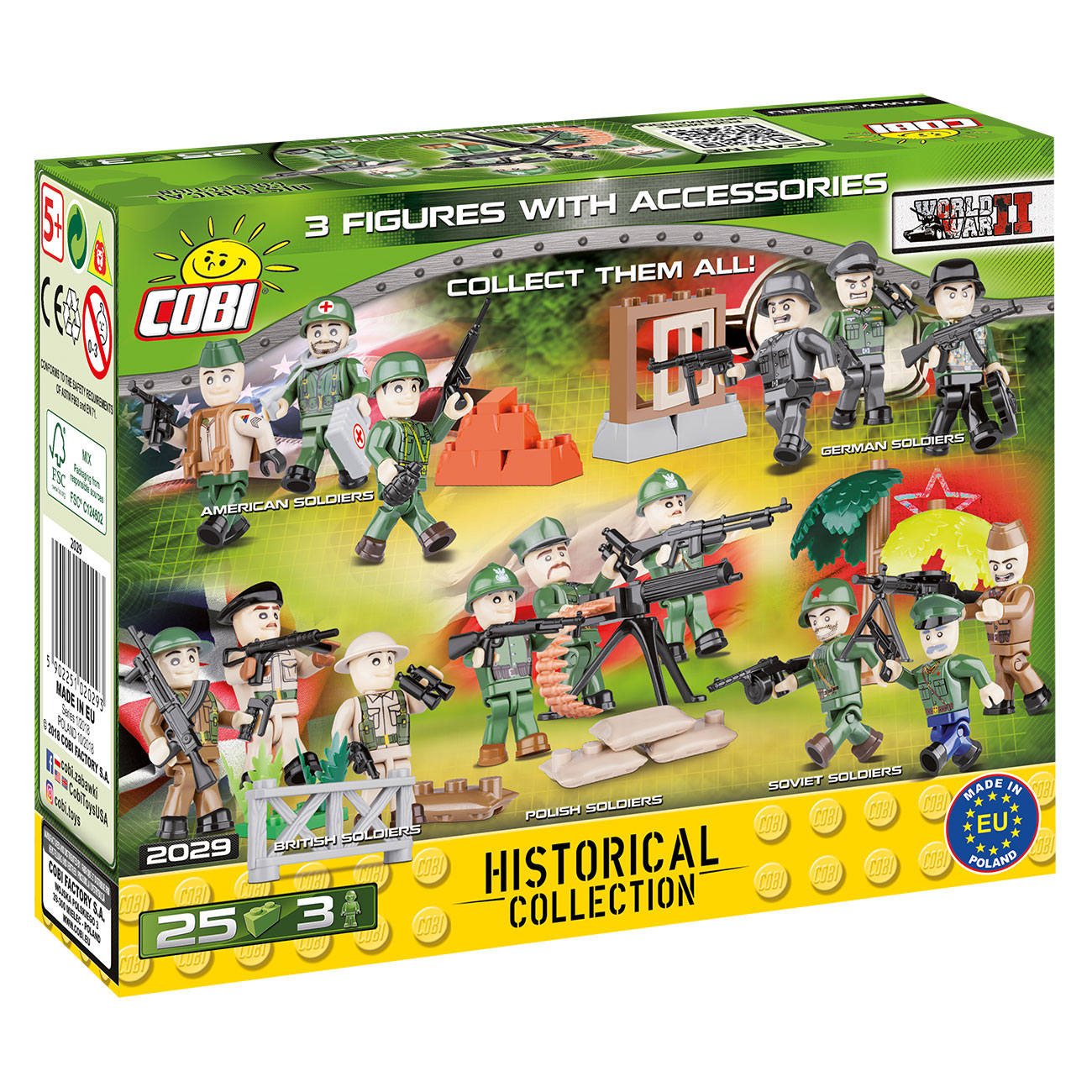 Cobi Historical Collection Polish Soldiers 25 Teile 2029 2