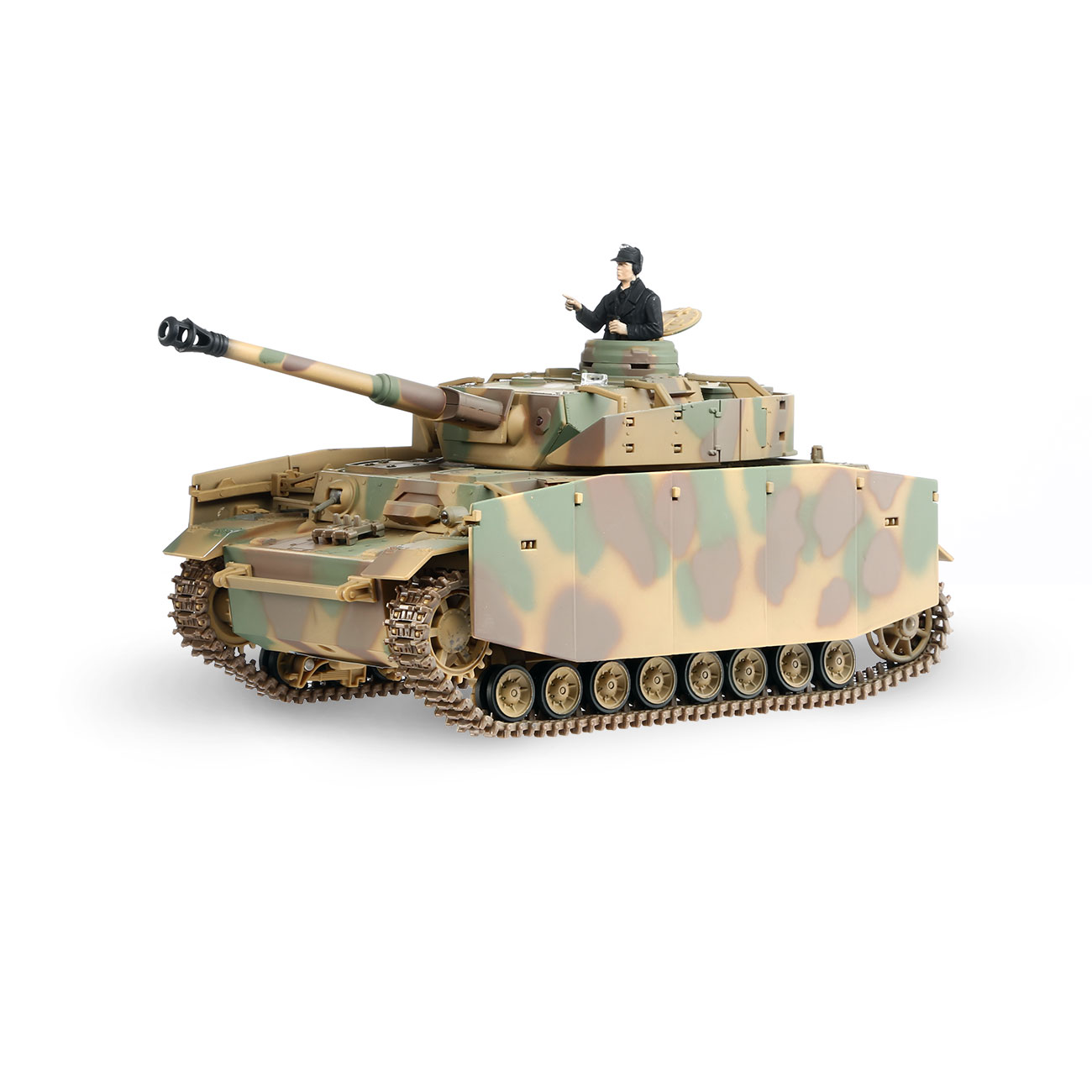 Torro RC War Thunder PzKpfw IV 1:24 Ausf. H Infrarot Sommertarn 2,4 GHz - Limited Edition 0