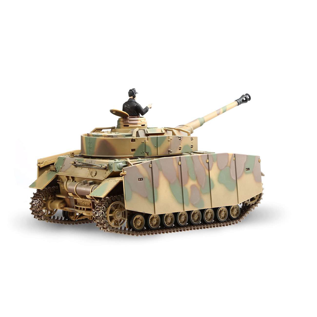 Torro RC War Thunder PzKpfw IV 1:24 Ausf. H Infrarot Sommertarn 2,4 GHz - Limited Edition 3