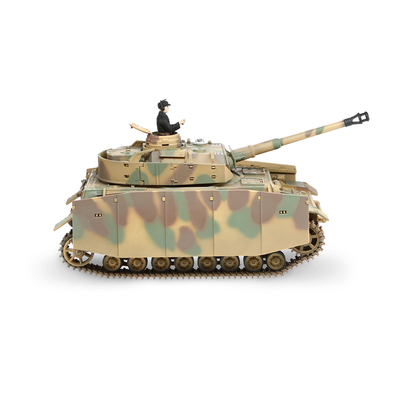 Torro RC War Thunder PzKpfw IV 1:24 Ausf. H Infrarot Sommertarn 2,4 GHz - Limited Edition 4