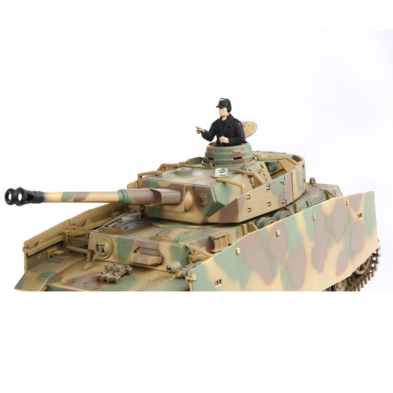 Torro RC War Thunder PzKpfw IV 1:24 Ausf. H Infrarot Sommertarn 2,4 GHz - Limited Edition 5