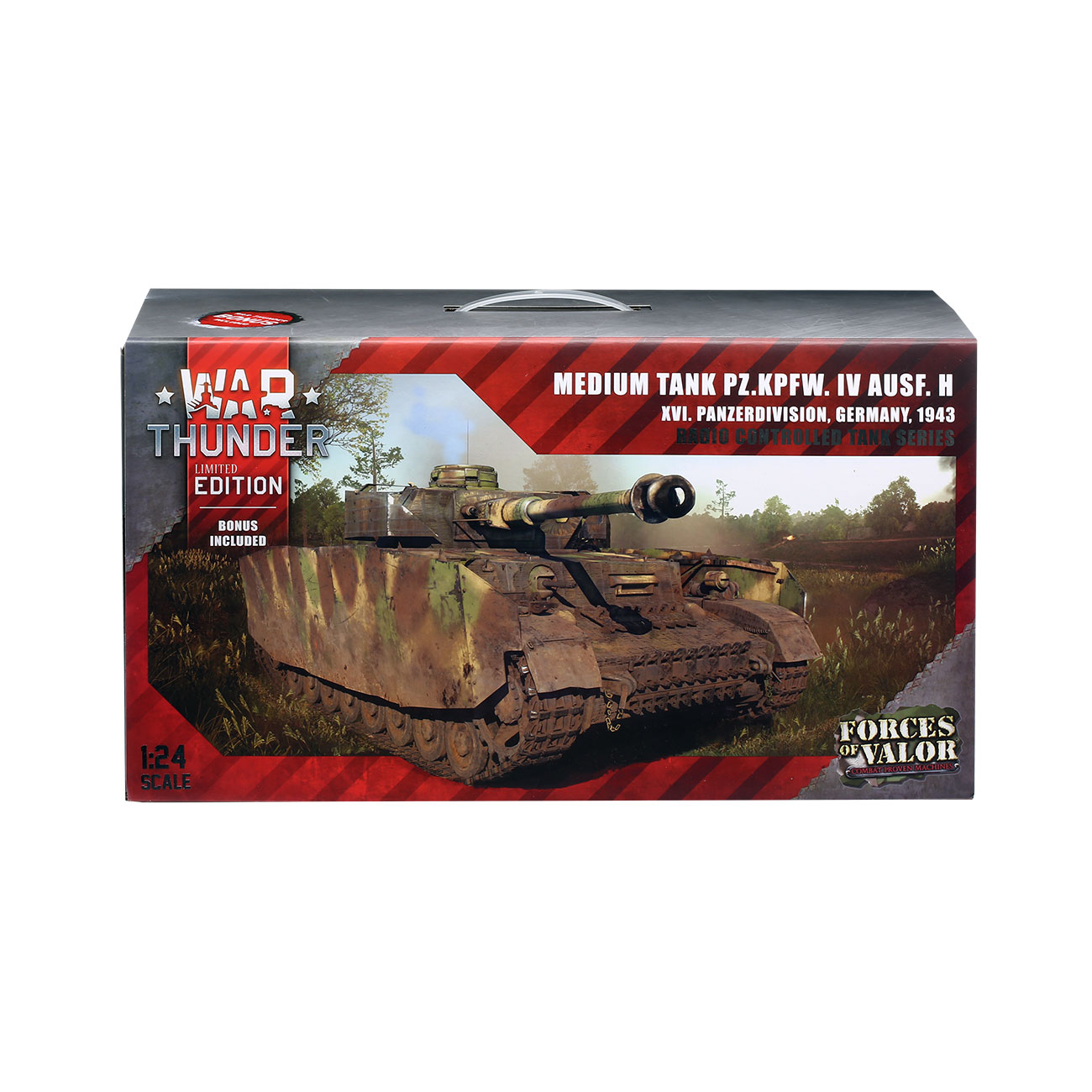 Torro RC War Thunder PzKpfw IV 1:24 Ausf. H Infrarot Sommertarn 2,4 GHz - Limited Edition 8