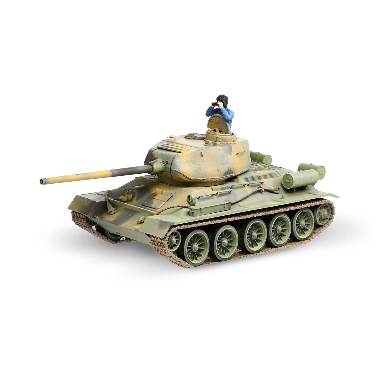 Torro RC War Thunder Panzer T-34/85 1:24 Infrarot Tarn 2,4 GHz - Limited Edition 0