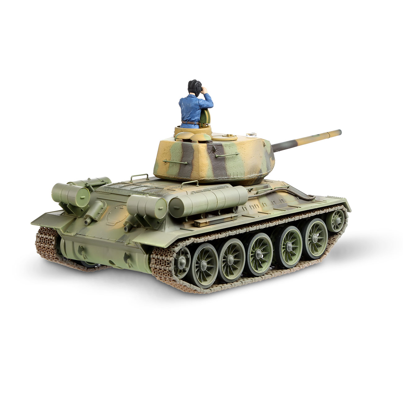 Torro RC War Thunder Panzer T-34/85 1:24 Infrarot Tarn 2,4 GHz - Limited Edition 3