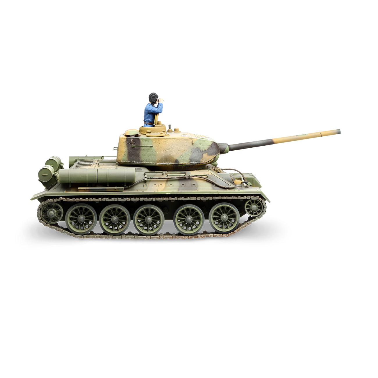 Torro RC War Thunder Panzer T-34/85 1:24 Infrarot Tarn 2,4 GHz - Limited Edition 4