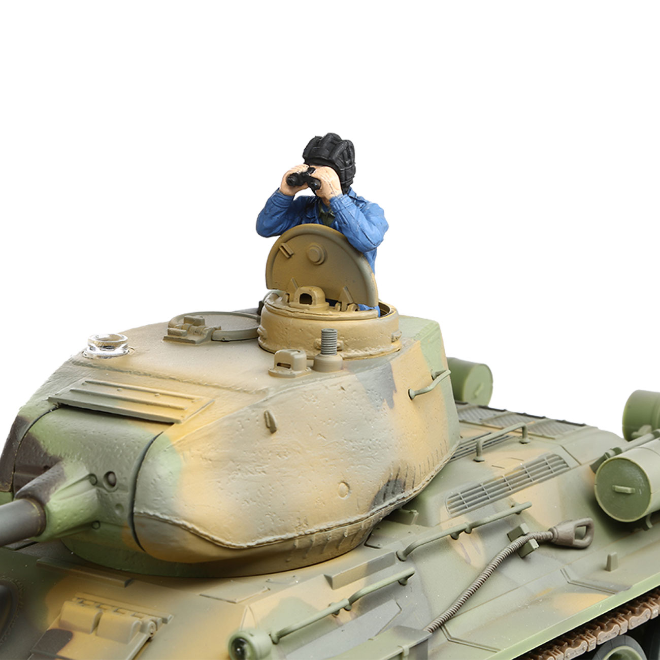 Torro RC War Thunder Panzer T-34/85 1:24 Infrarot Tarn 2,4 GHz - Limited Edition 5