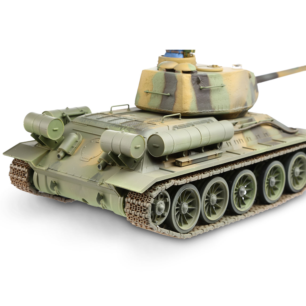 Torro RC War Thunder Panzer T-34/85 1:24 Infrarot Tarn 2,4 GHz - Limited Edition 6