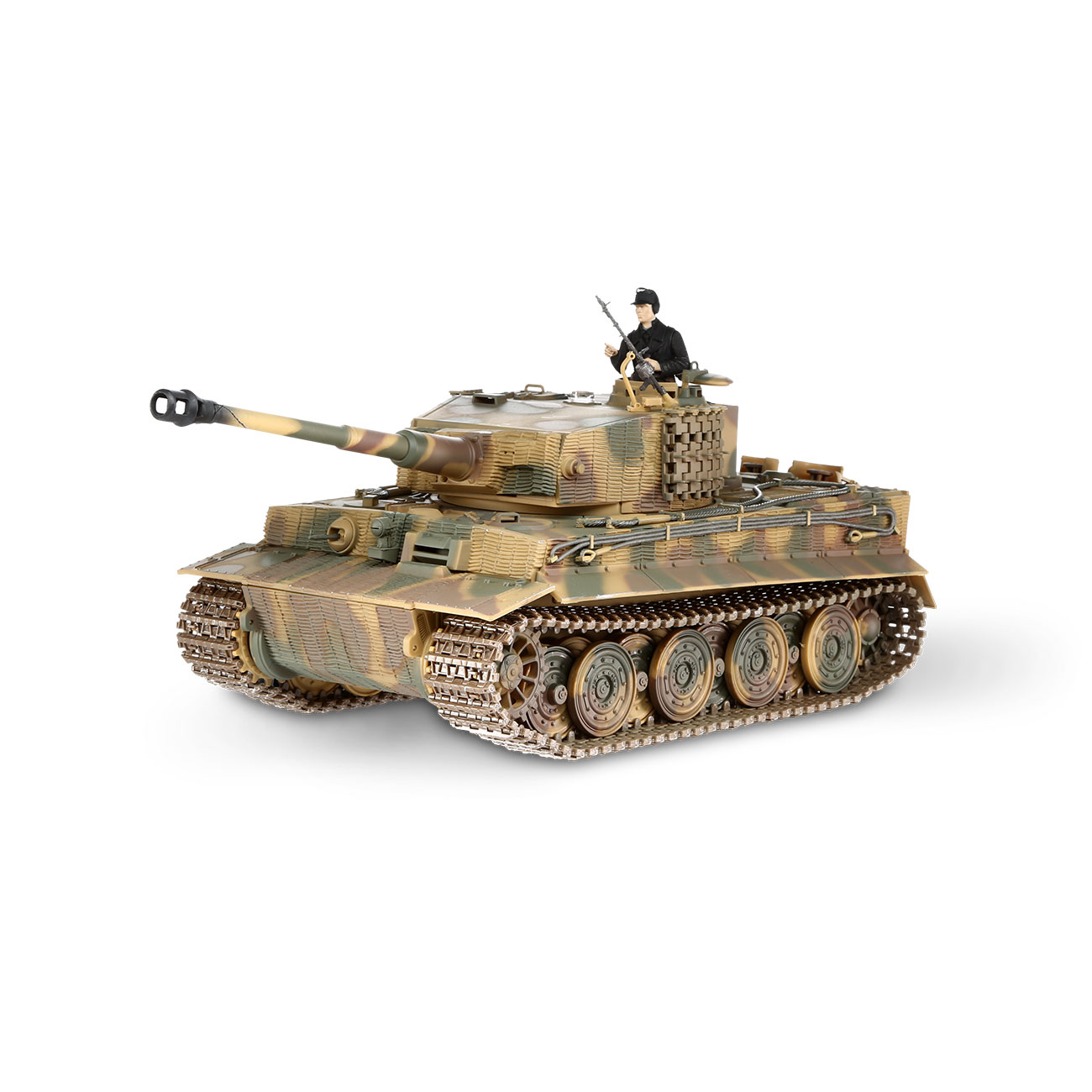 Torro RC War Thunder PzKpfw VI Tiger Ausf. E 1:24 Infrarot Sommertarn 2,4 GHz - Limited Edition 0