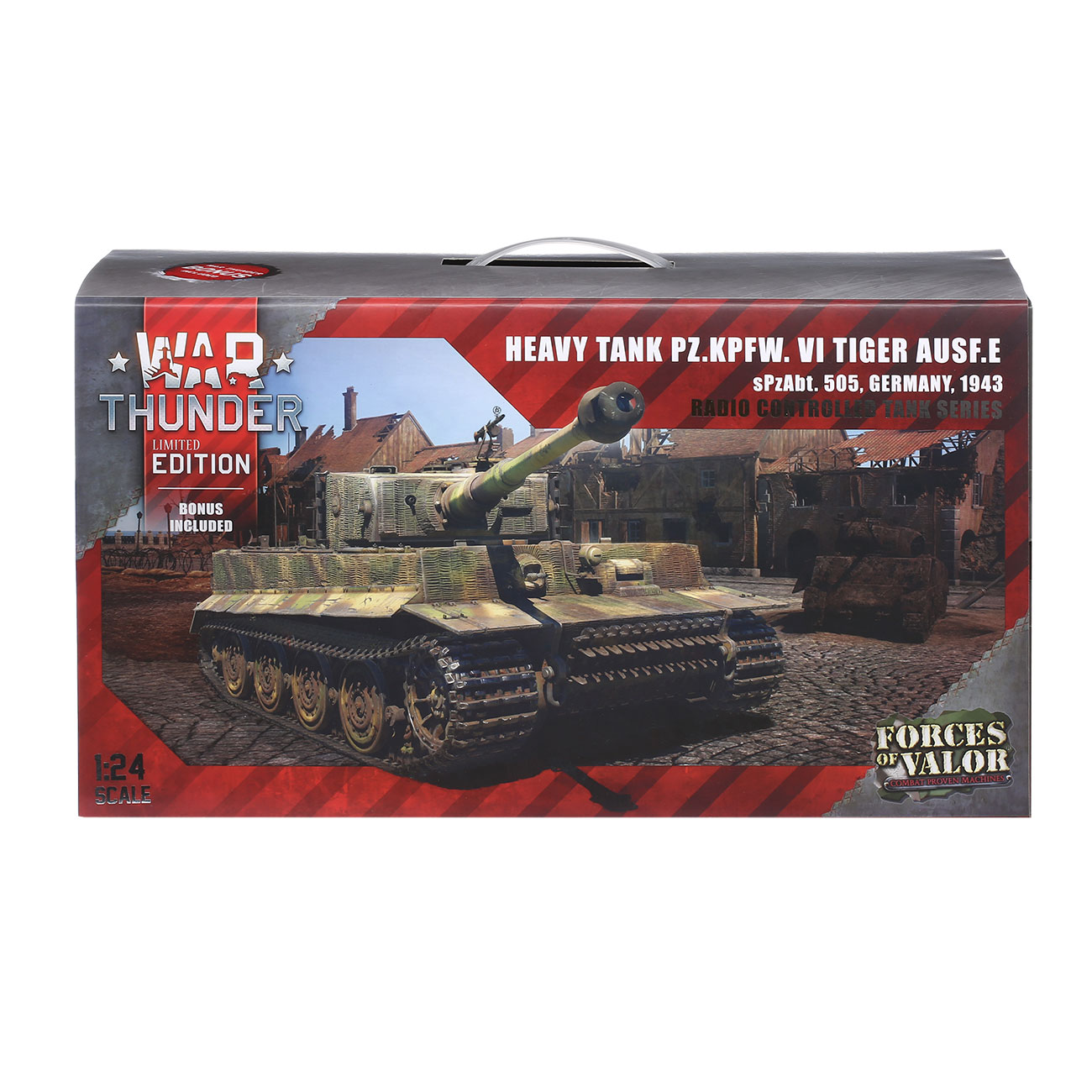 Torro RC War Thunder PzKpfw VI Tiger Ausf. E 1:24 Infrarot Sommertarn 2,4 GHz - Limited Edition 7