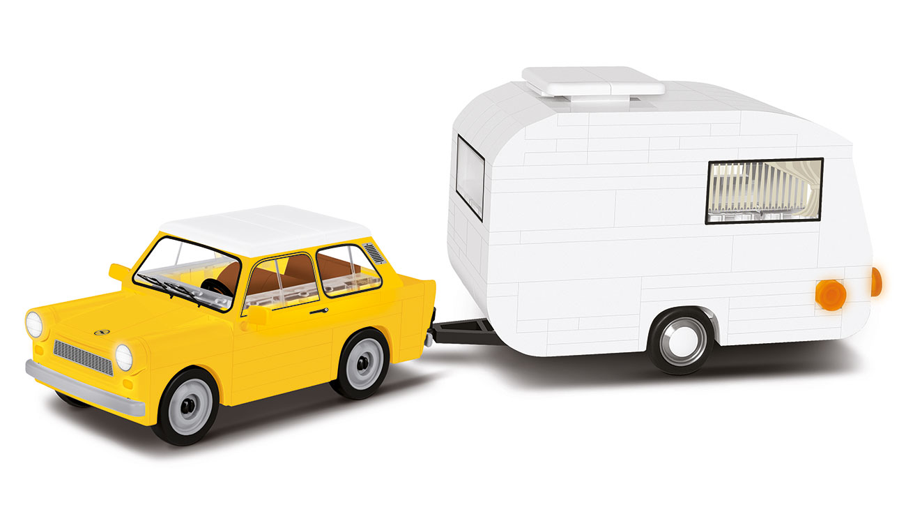 Cobi Youngtimer Collection Trabant 601 mit Caravan 218 Teile 24590 0