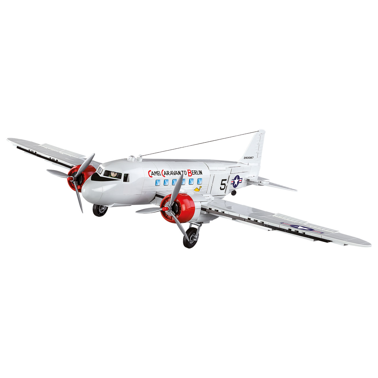 Cobi Historical Collection Bausatz Flugzeug C-47 Skytrain - Berlin Airlift 540 Teile 5702 0