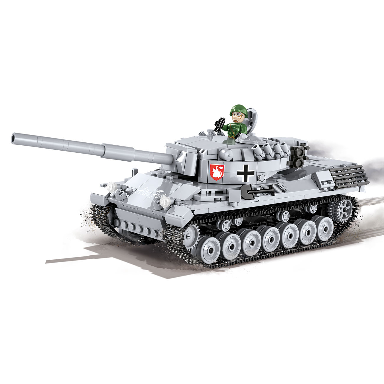 Cobi World Of Tanks Small Army Bausatz Panzer Leopard I 600 Teile 3037 0