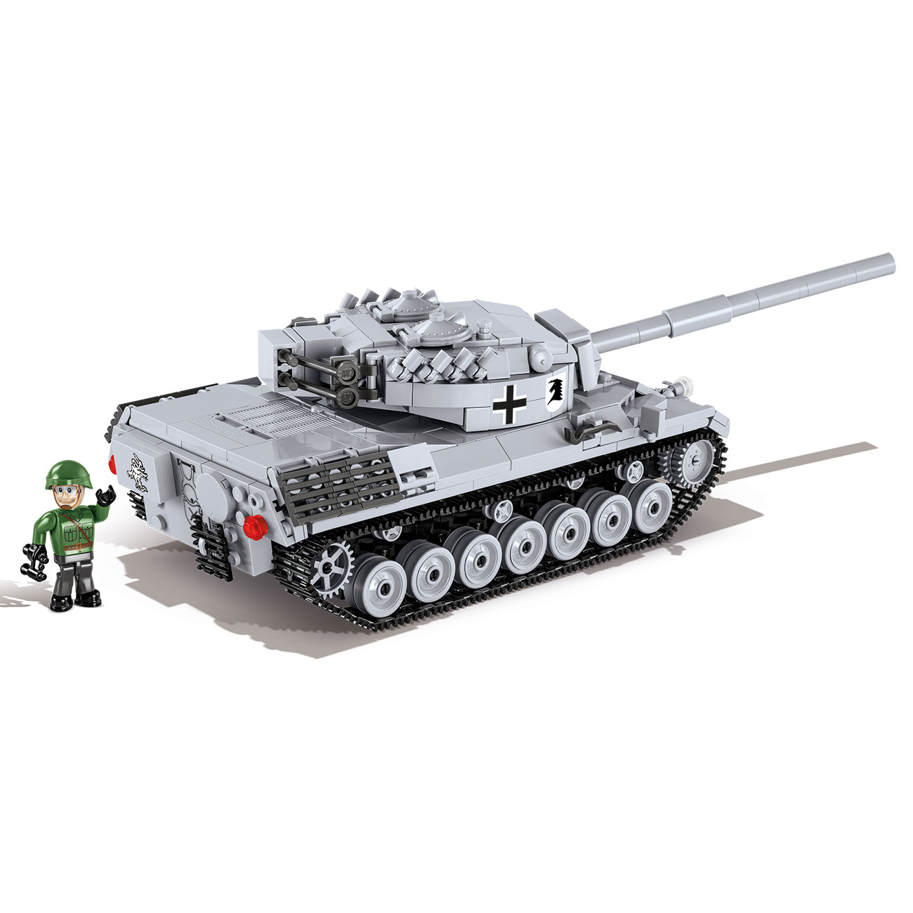 Cobi World Of Tanks Small Army Bausatz Panzer Leopard I 600 Teile 3037 1