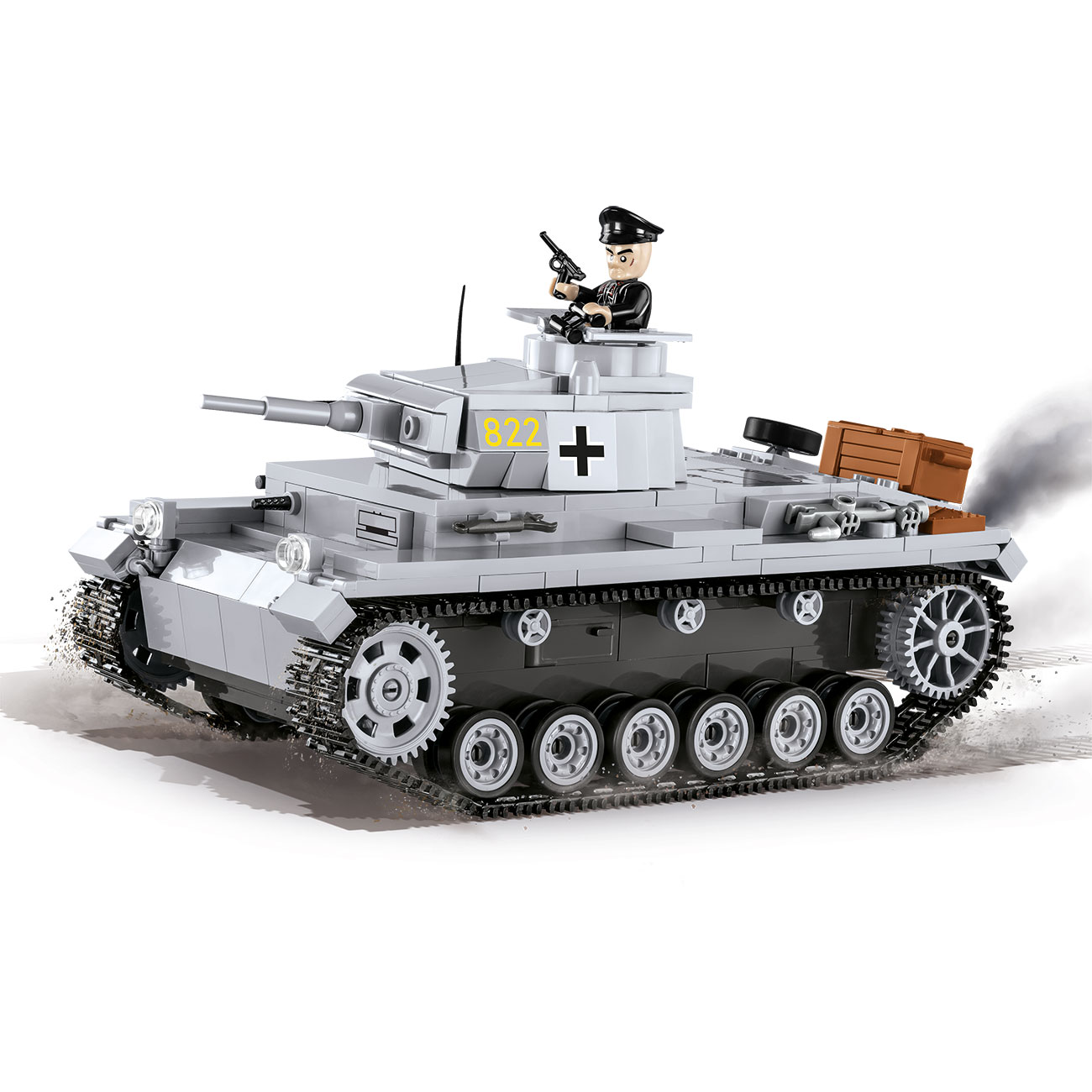 Cobi Historical Collection Bausatz Panzer III Ausf. E 470 Teile 2523 0